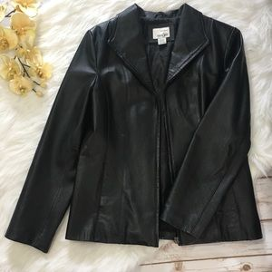 Black Leather Jacket East 5th